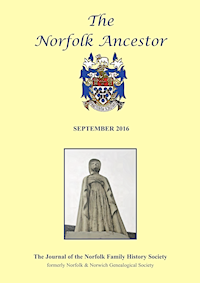 The Norfolk Ancestor Sep 2016