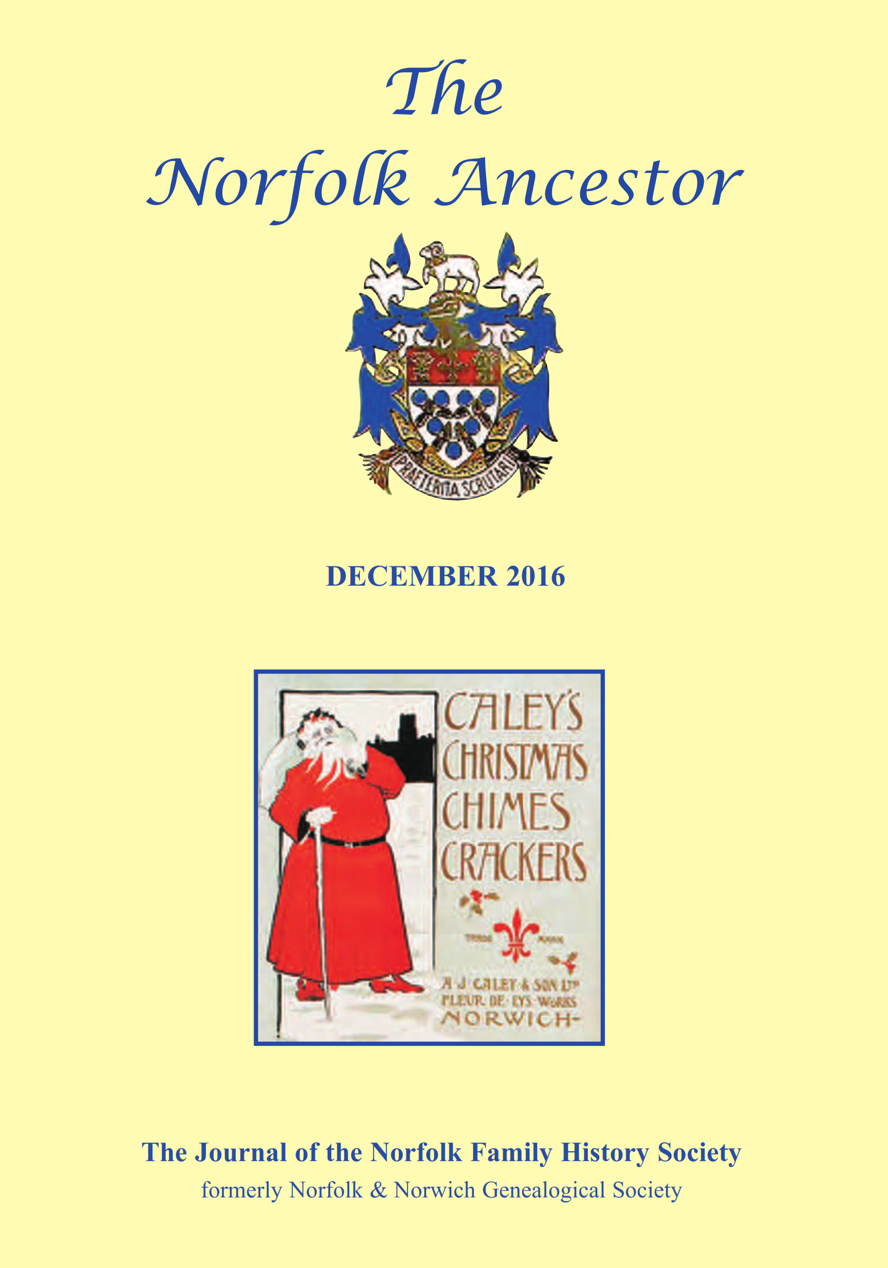 The Norfolk Ancestor Dec 2016
