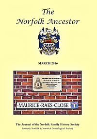 The Norfolk Ancestor Mar 2016