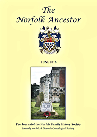 The Norfolk Ancestor Jun 2016