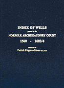 Index to Norwich Marriages (Blue Vol 14)