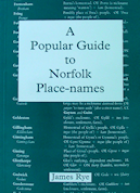 A Popular Guide to Norfolk Place-names