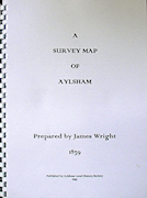 A Survey Map of Aylsham Prepared by James Wright 1839