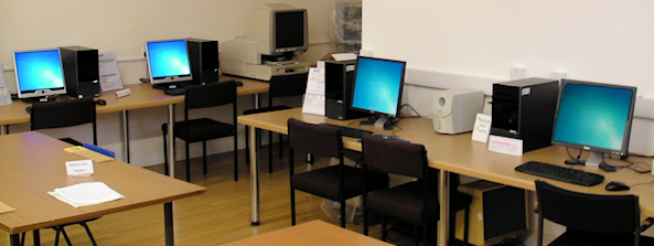 NFHS Computers in Kirby Hall